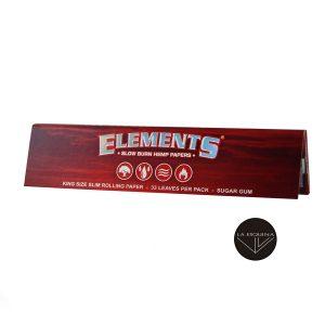 Papel de Liar ELEMENTS Red 110mm