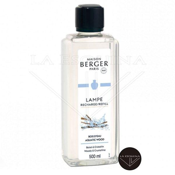Parfum de Maison LAMPE BERGER Bois d'Eau 500ml aroma a citricos y madera