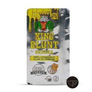 Papel KING BLUNT Banana,sabor platano