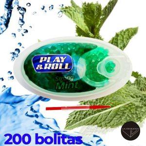 Cápsulas PLAY&ROLL stron Mint