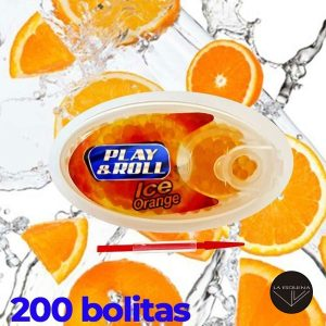 Cápsulas PLAY&ROLL Ice Orange