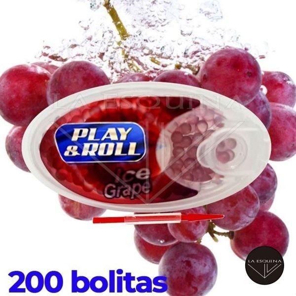 Cápsulas PLAY&ROLL Ice Grape