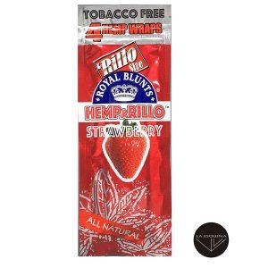 Papel HEMPARILLO Strawberry,sabor fresa