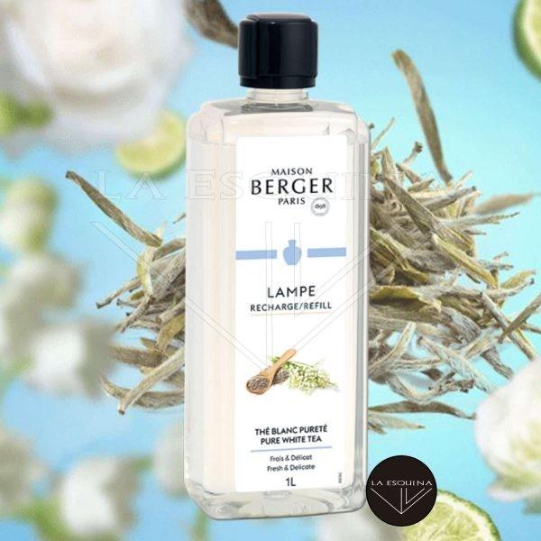 Parfum de Maison LAMPE BERGER Thé Blanc Pureté 1L