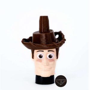 Boquilla 3D Muñeco Vaquero