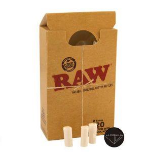 Filtros Raw Slim 6mm Algodon Caja