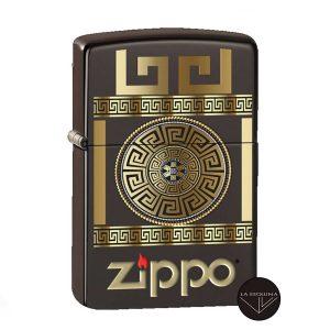 ZIPPO Greek Key Design