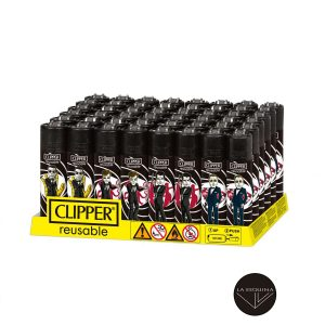 Caja De 48 Encendedores Recargables CLIPPER Gunner