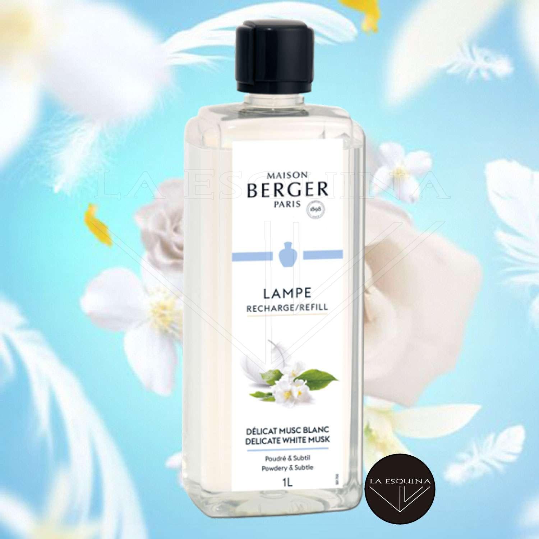 Parfum de Maison LAMPE BERGER Délicat Musc Blanc 1L