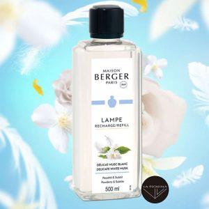 Parfum de Maison LAMPE BERGER Délicat Musc Blanc 500ml