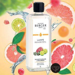 Parfum de Maison LAMPE BERGER Envolee D'Agrumes 1L