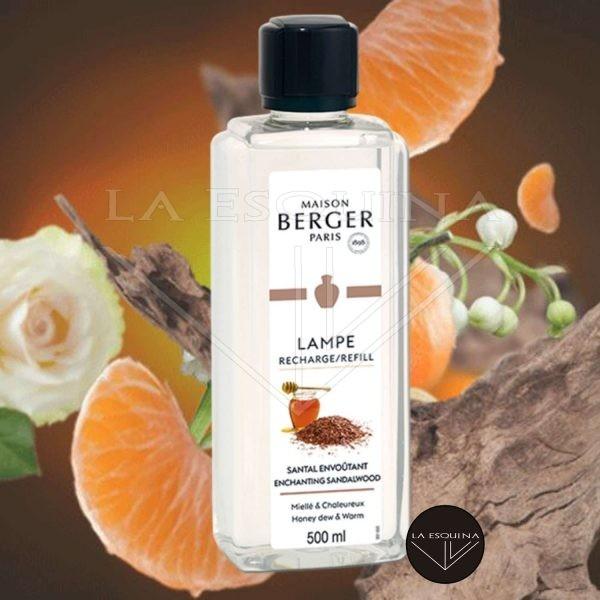 Parfum de Maison LAMPE BERGER Santal Envoûtant 500ml