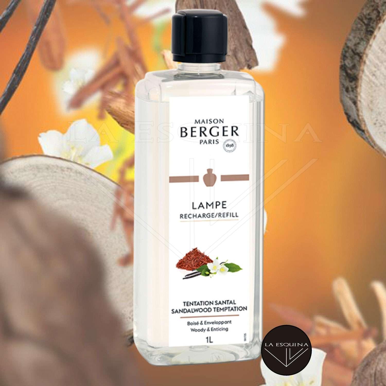 Parfum de Maison LAMPE BERGER Tentation Santal 1L