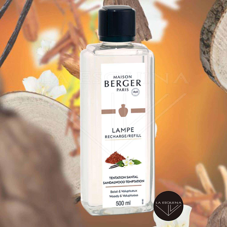 Parfum de Maison LAMPE BERGER Tentation Santal 500ml
