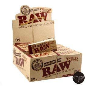 Caja filtros raw perforados 2500 filtros wide tip