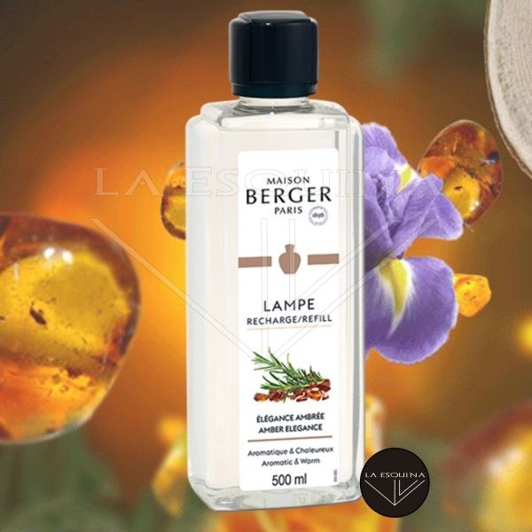 Parfum de Maison LAMPE BERGER Élégance Ambrée 500ml