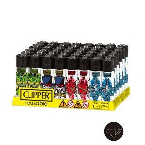 Caja De Encendedor Recargable CLIPPER Tattoo Style